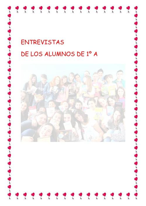 ENTREVISTAS DE 1º A