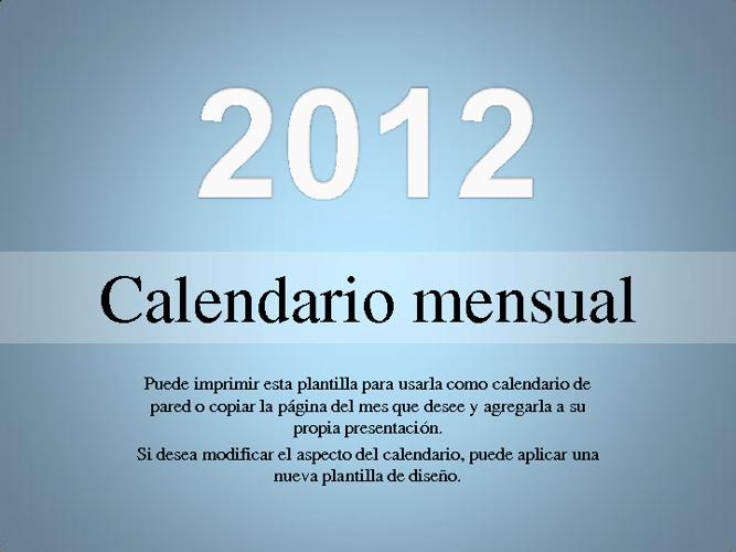 Calendario fredi