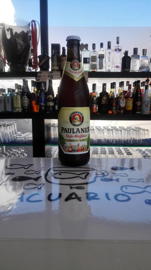 Carta de Cervezas de Cafetería Acuario