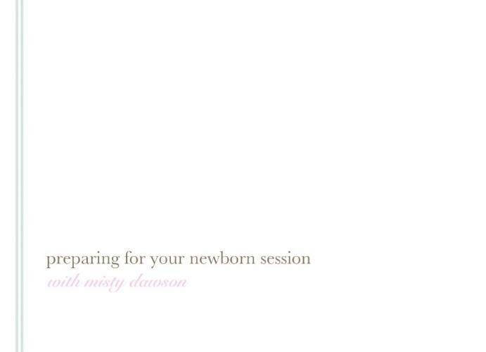 Newborn Info Packet