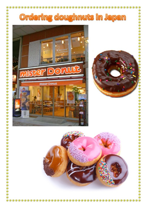 Ordering Doughnuts in Japan