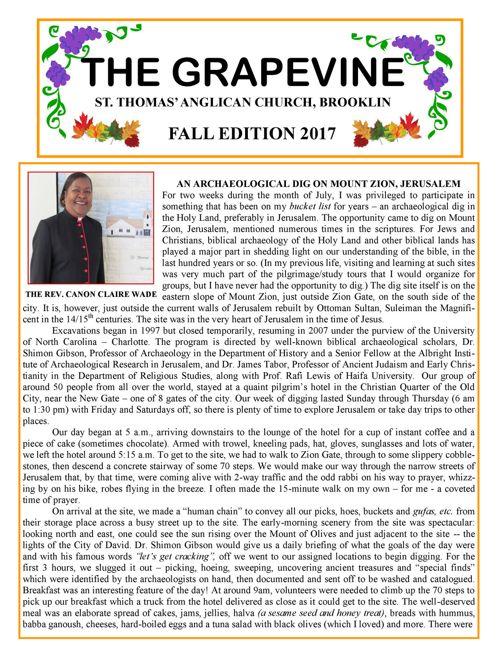 The Grapevine   Fall 2017
