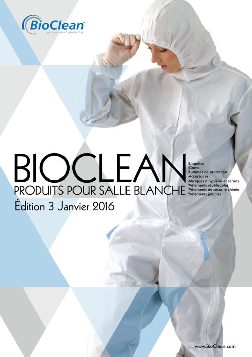BioClean Catalogue 2016 - French