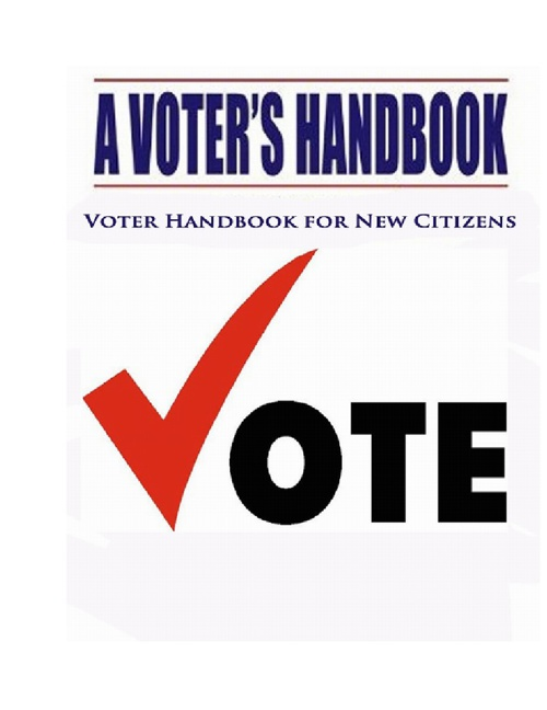 Voter Handbook for New Citizens