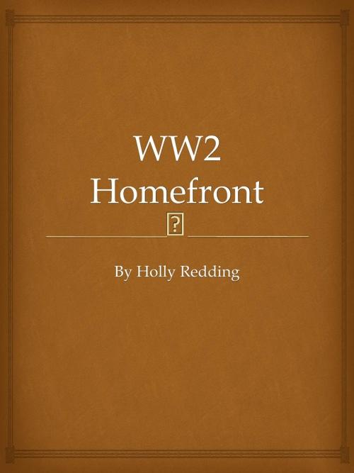 WW2 Homefront