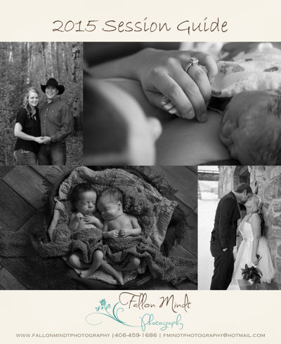 2015 Fallon Mindt Photography Session Guide