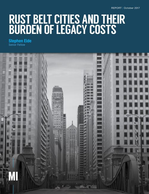 Rust Belt Cities and Their Burden of Legacy Costs