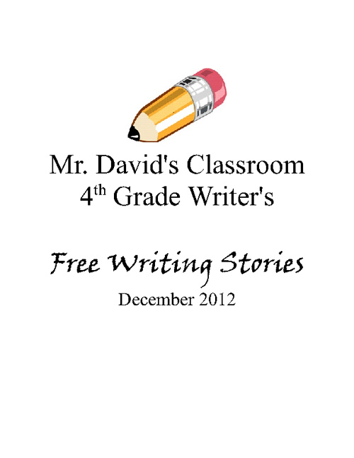 Our Narrative Writings - Fall 2012