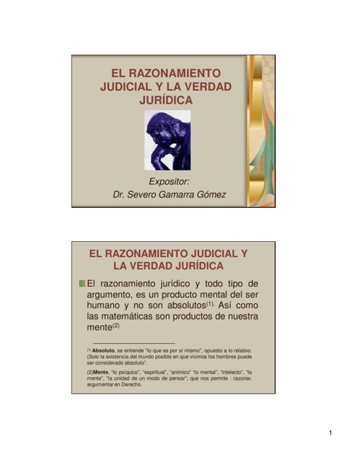 2.3 El Silogismo Jurídico (presentación)