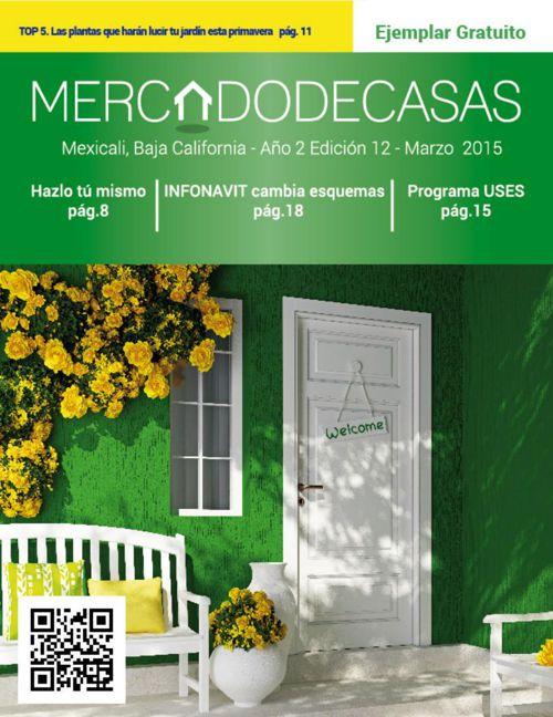 Revista Mercado de Casas, Edición 12 - Marzo 2015