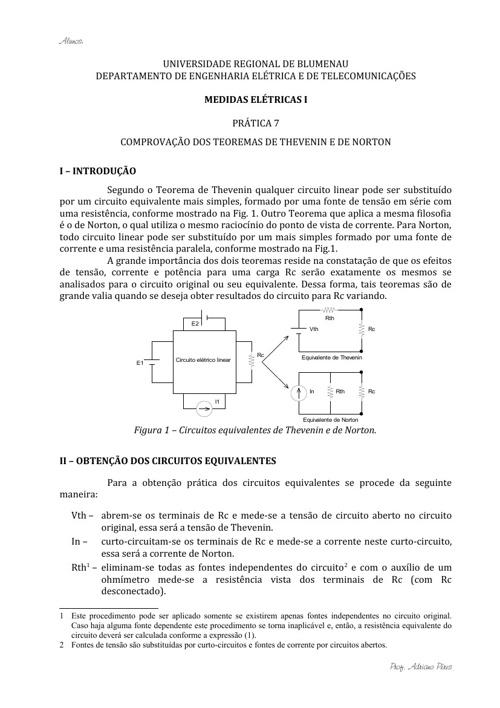Medidas -Prática 7