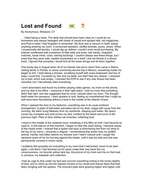 Lost & Found Article Response