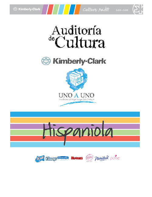 Culture Audit 2012 - Hispaniola