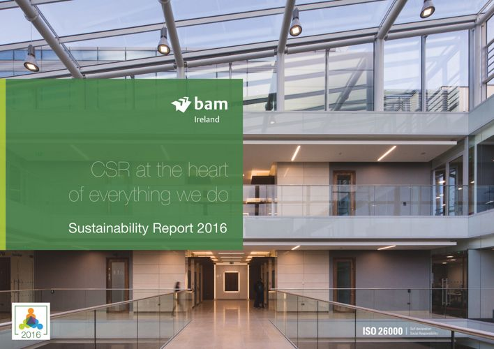 BAM Ireland Sustainability Report 2016