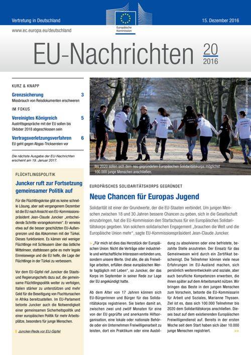 EU-Nachrichten #20