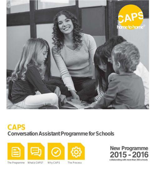 CAPS 2015-2016 PROGRAMME DOSSIER