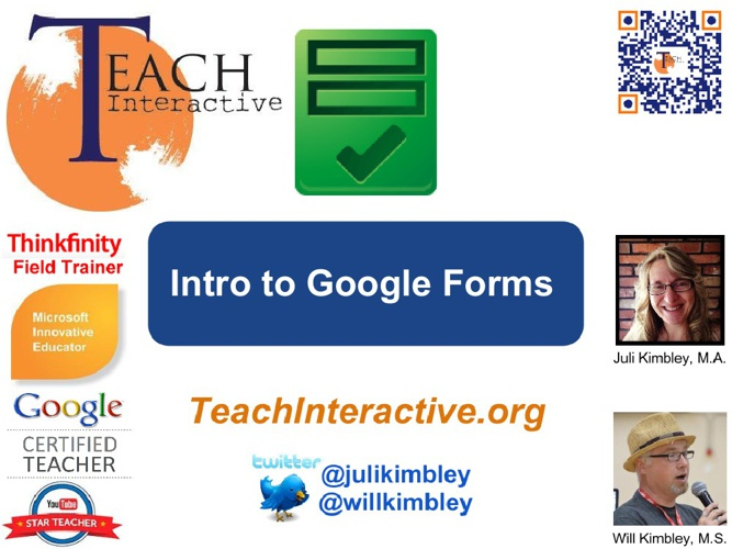 Intro to Google Forms