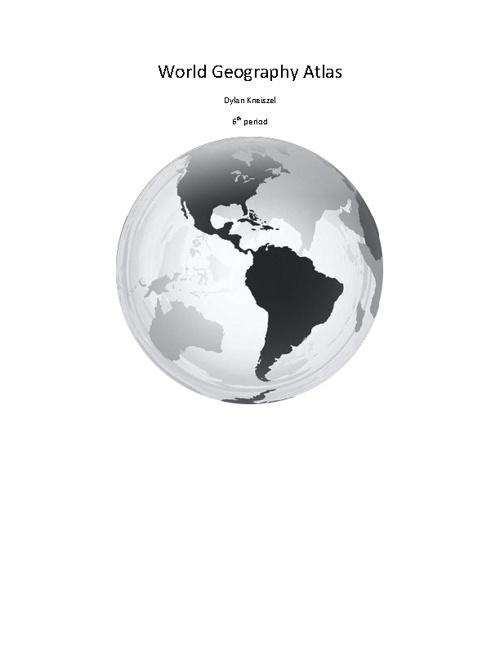 World Geography Atlas