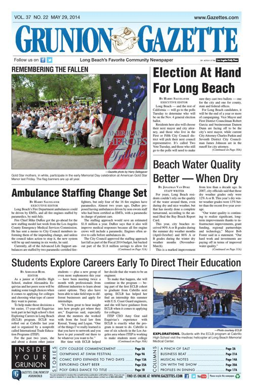 Grunion Gazette | May 29, 2014