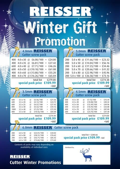 Reisser Winter Gift Promotion 2013