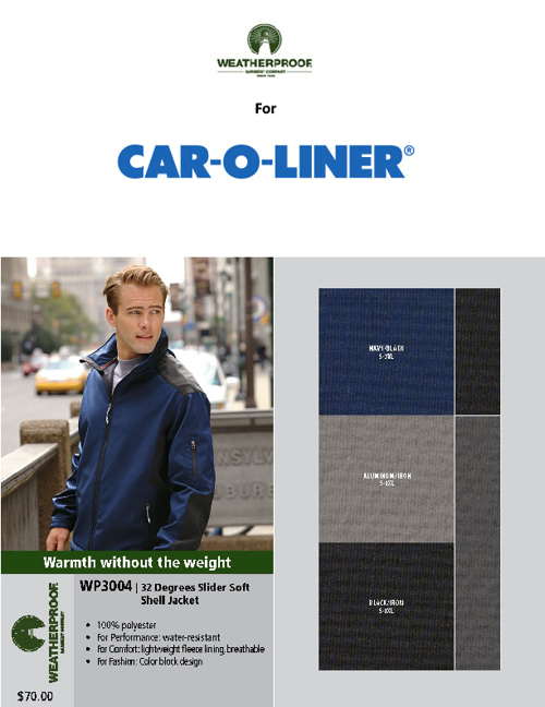 Weatherproof for Car-O-Liner