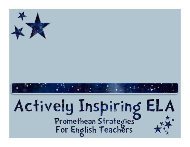 Actively Inspiring ELA
