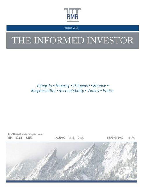 Informed Investor Oct 15