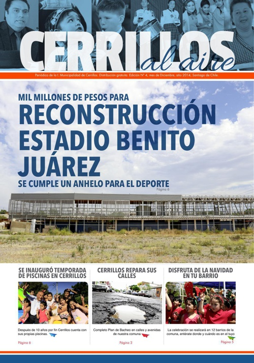 Periodico Edición Diciembre 2014
