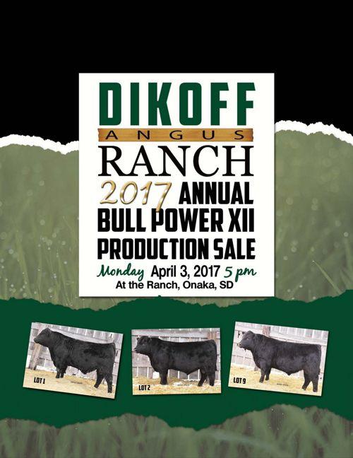Dikoff Angus Ranch 2017 Annual Bull Power XXII Sale