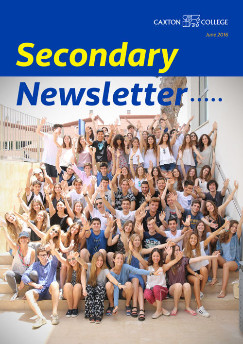 Secondary Newsletter: June