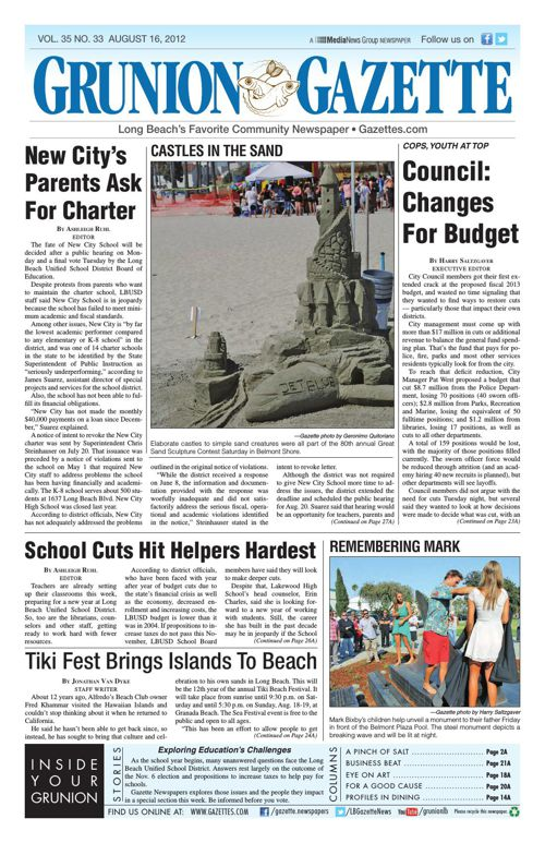 Grunion Gazette | August 16, 2012