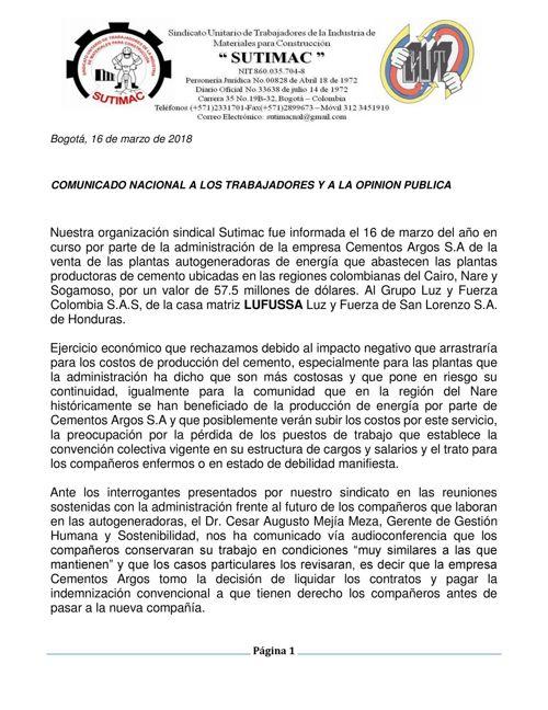 INFORME SECCIONALES VENTA GENERADORAS MARZO 16 DE 2018(1)