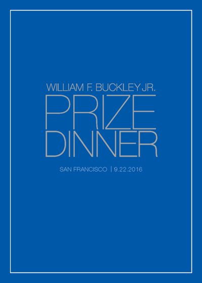 2016 WFB Jr. Prize Dinner Invitation