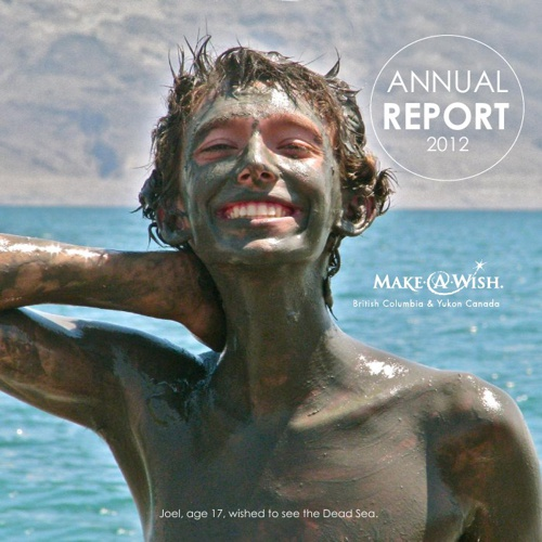 Make-A-Wish BC & YK: Annual Report 2012