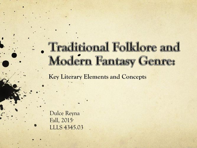 Folklore and Fantasy