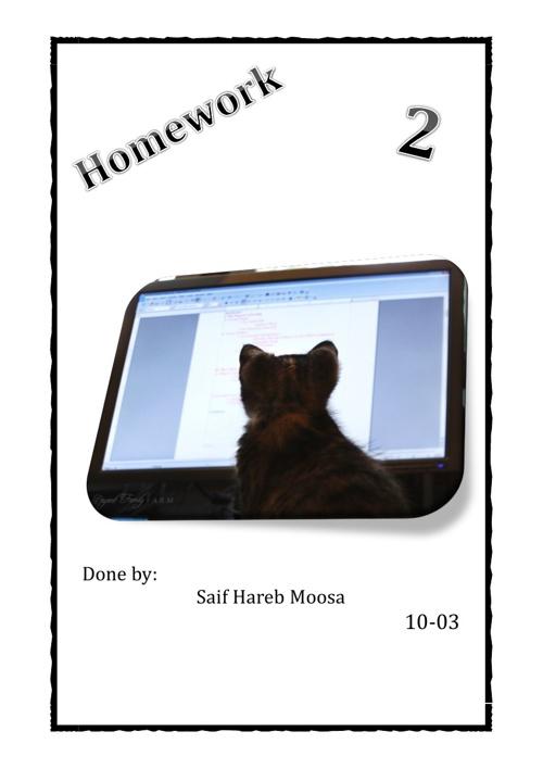 E homework 2