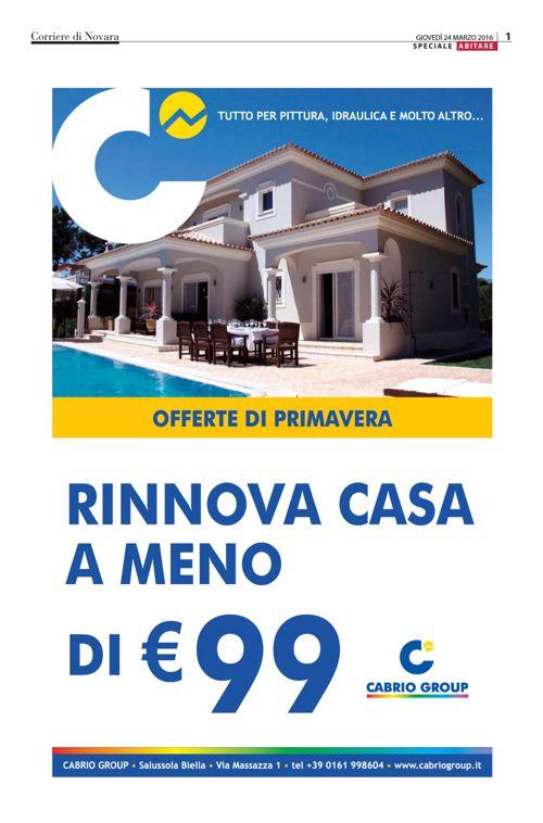 Speciale Casa Corriere di Novara
