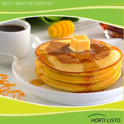 Hot Cakes de Zapallo