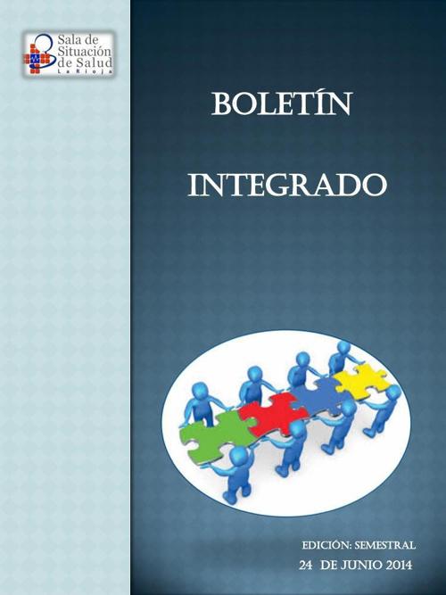 BOLETIN INTEGRADO -SEMESTRAL  2014
