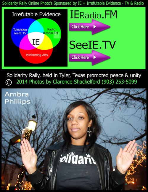 Solidarity Rally in Tyler, Texas