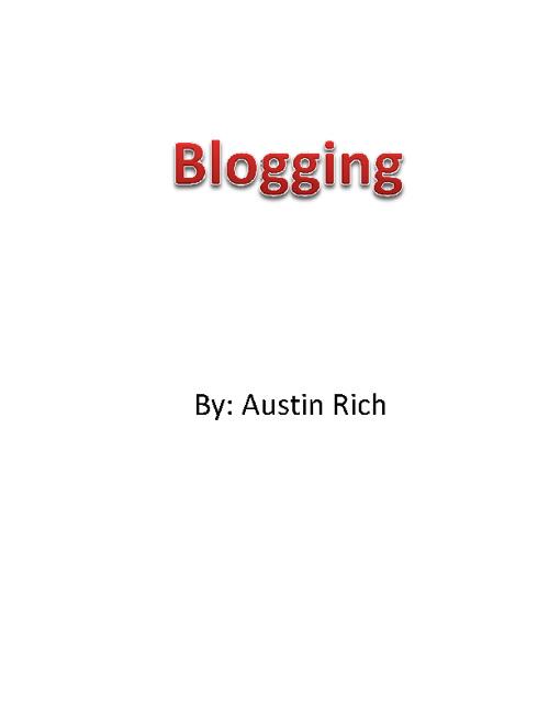 Blogggging