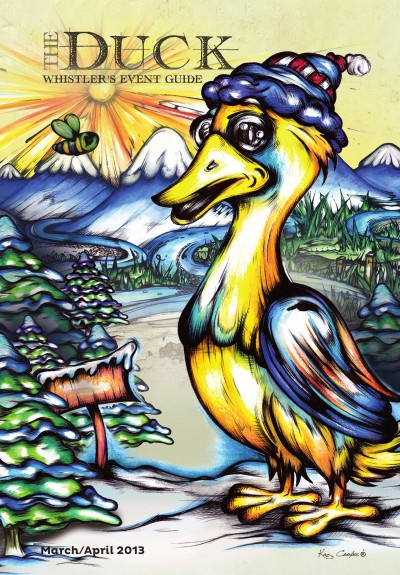 The Duck - Whistler's Event Guide (March Issue)