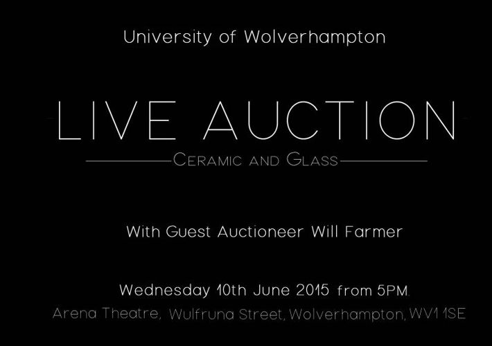 University of Wolverhampton Live Auction with Will Farmer
