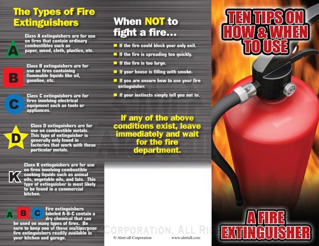 722 Fire Extinguisher