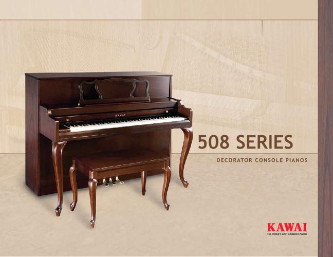 Kawai 508 Brochure
