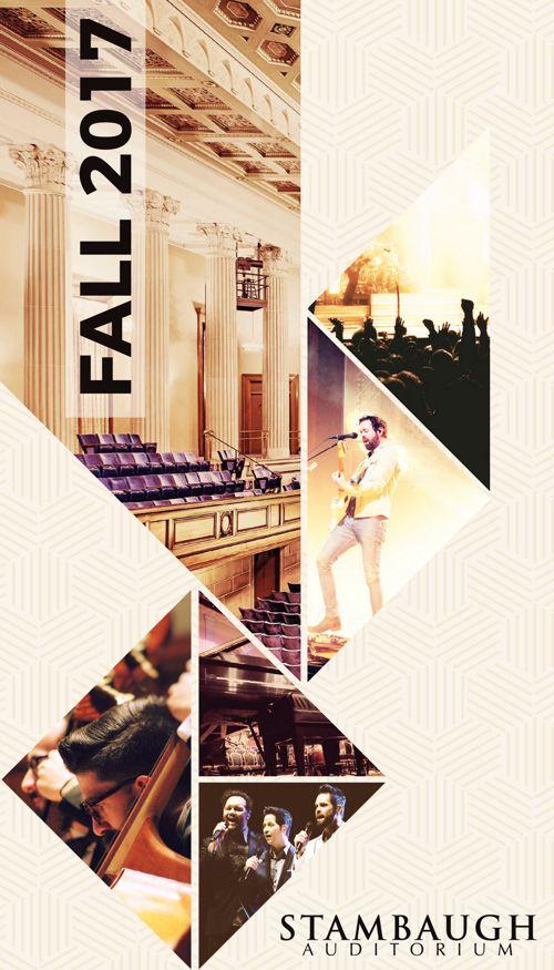 Stambaugh Auditorium Fall 2017 Events