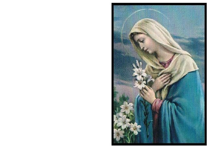 Santini Card for DELIA THERESA DUFFY