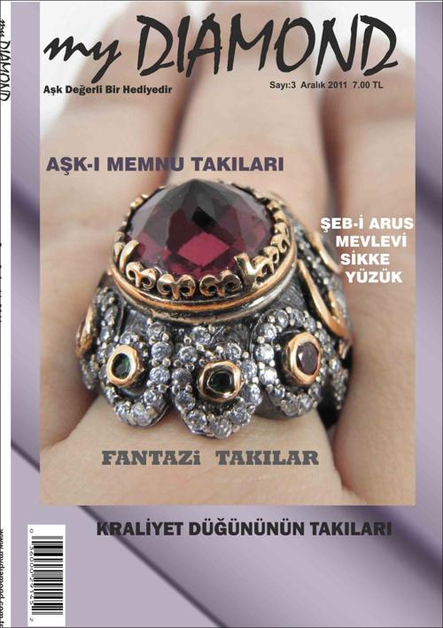 my DIAMOND - (Takı Mücevherat dergisi tasarımı)