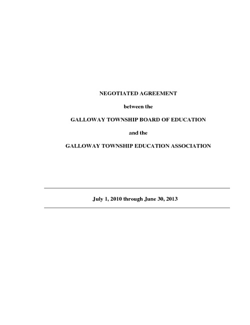 GTEA Contract