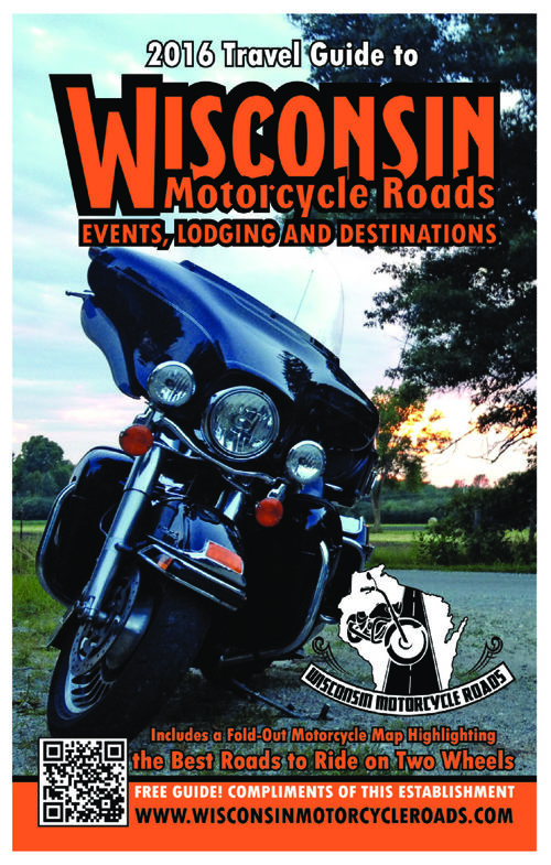 2016 WISCONSIN MOTORCYCLE ROADS TRAVEL GUIDE